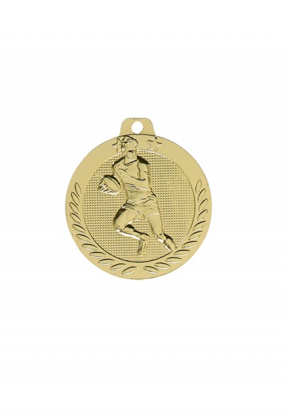 Médaille 40mm Rugby - DX15